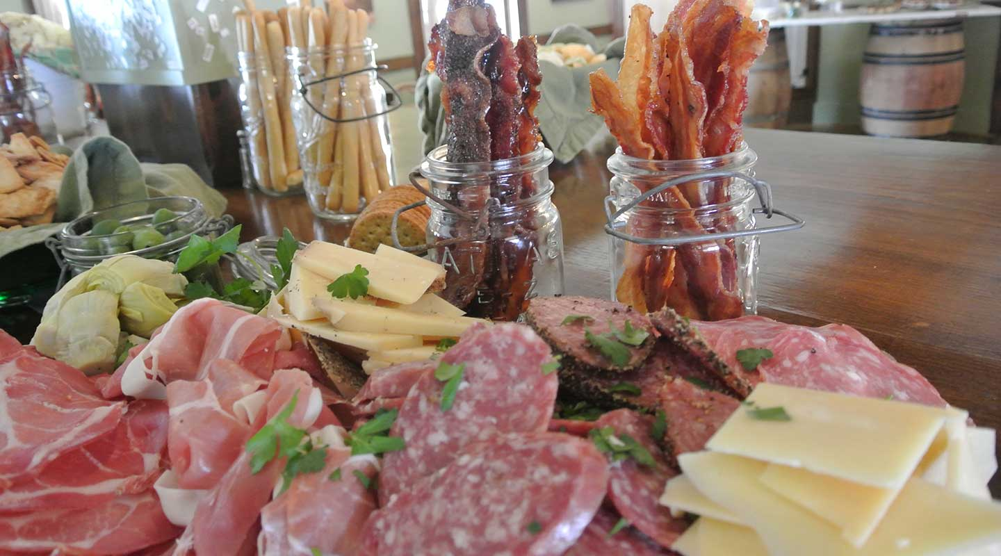 Exquisite charcuterie board from our Holderness, NH restaurant