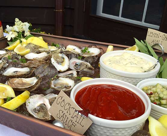 Fresh seafood for a special occasion in Holderness, NH